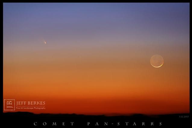 Comet C/2011 L4 PanSTARRS By Jeff Berkes