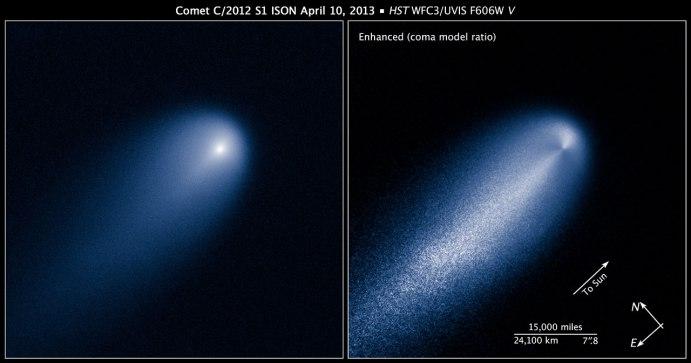 COMET C/2012 S1 ISON UPDATE