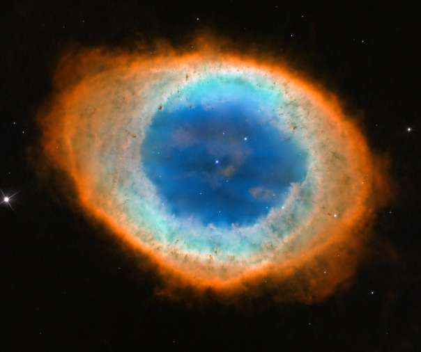 RING NEBULA IN NEW BRILLIANT HUBBLE HD!