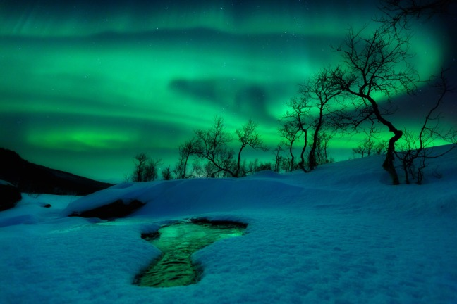 GREEN WORLD – THE AURORA BOREALIS