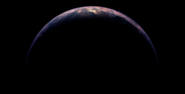 HERE'S EARTH – HOME TO 7.2 BILLION AND COUNTING