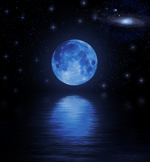 """GET OUT AND SEE THE """"SEASONAL"""" BLUE MOON TOMORROW!"""
