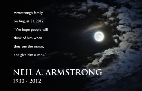 WINK AT THE MOON ON AUGUST 25th TO HONOR ONE OF HUMANITYS GREATEST EXPLORERS.