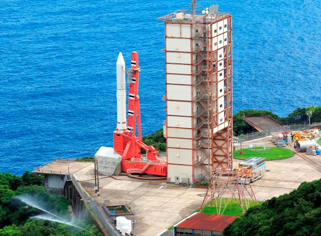 JAPAN/JAXA MAIDEN FLIGHT OF THE SMALL EPSILON ROCKET. (Delayed from August 27)