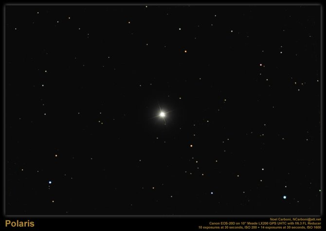 POLARIS: THE NORTH STAR……FOR NOW.