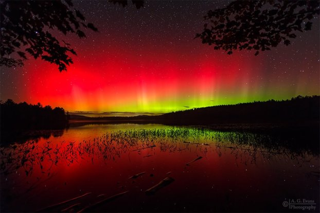FIRE IN THE NEW HAMPSHIRE SKY