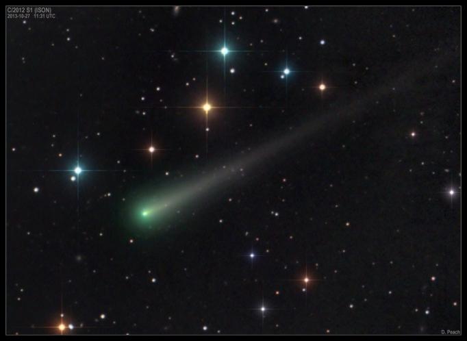COMET C/2012 S1 ISON UPDATE: NOVEMBER 4, 2013.