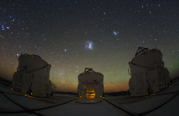 ATACAMA SKY FROM THE VLT…….