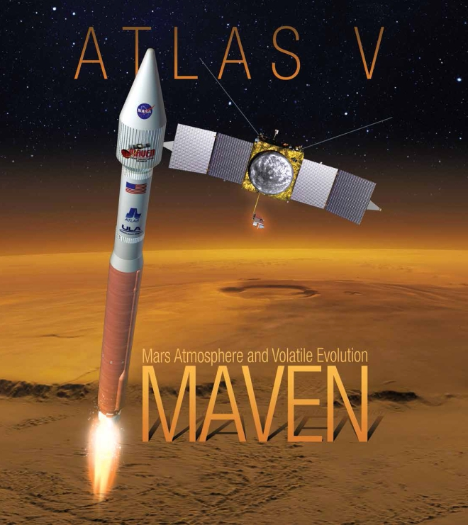 NASA MAVEN ON TRACK FOR MONDAY LAUNCH TO MARS!