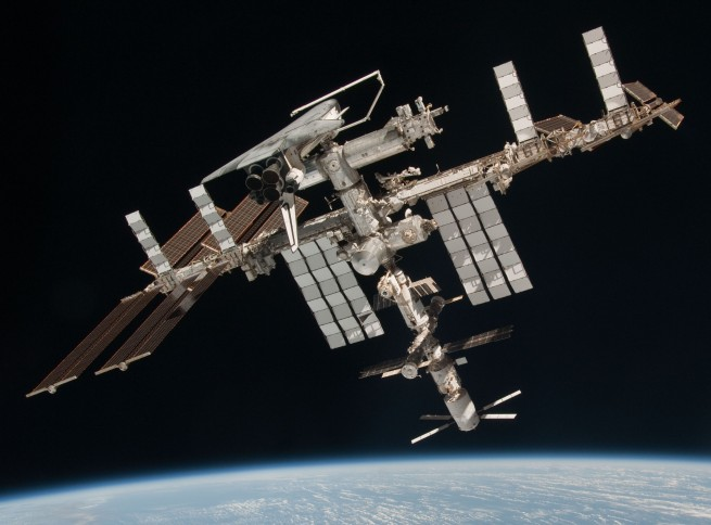HAPPY 15TH BIRTHDAY TO THE INTERNATIONAL SPACE STATION.
