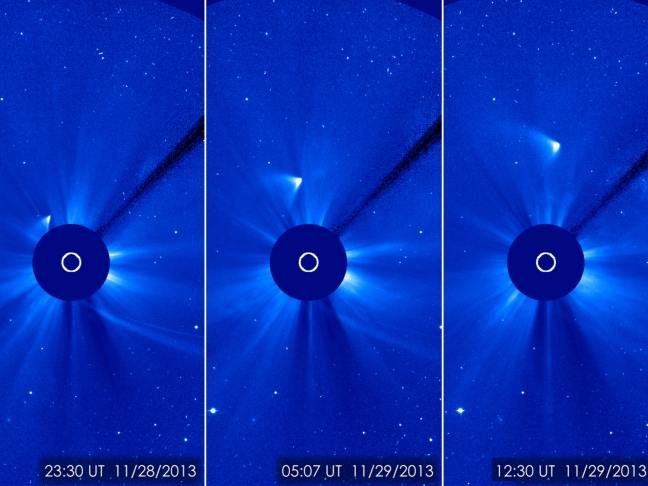 OH COMET ISON WHAT ARE YOU DOING?