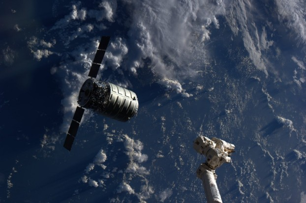 "ORBITAL ANTARES ROCKET W' CYGNUS ""C. Gordon Fullerton"" READY TO SUPPLY THE ISS:  GO ORB-1!"