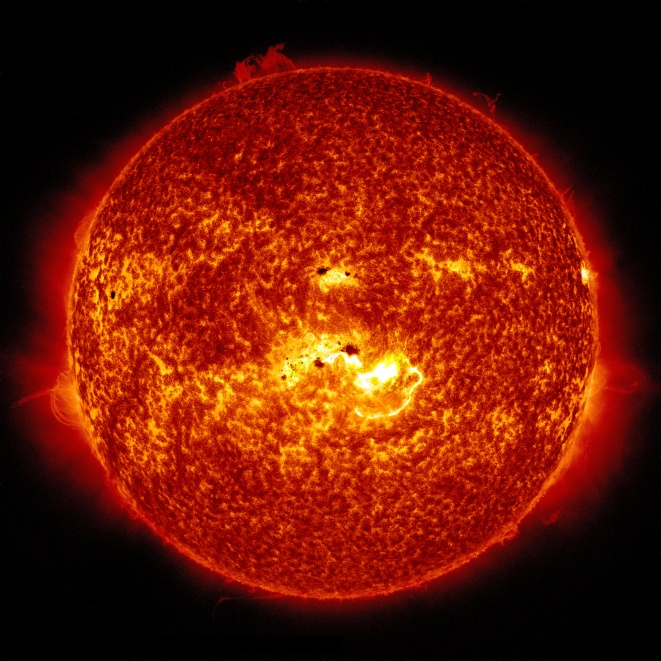 X-CLASS SOLAR FLARE TO STRIKE EARTH THIS MORNING.
