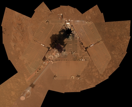 MARS ROVERS SPIRIT & OPPORTUNITY CELEBRATE 10 YEARS ON MARS.