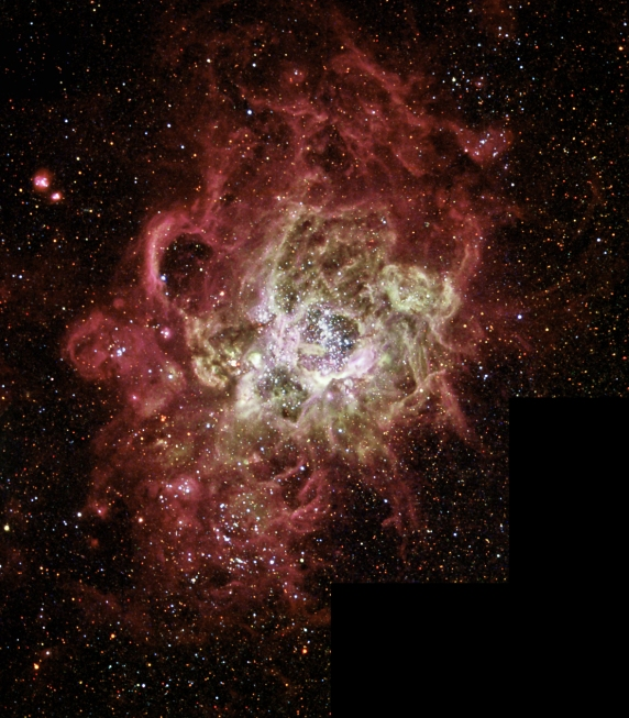NGC 604; OBSERVING NEBULAE IN OTHER GALAXIES.