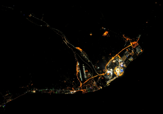 HELLO SOCHI, FROM THE ISS WITH LOVE