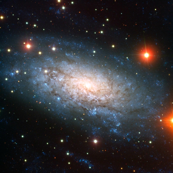THE VLT GOES TO WORK ON SPIRAL GALAXY NGC 3621