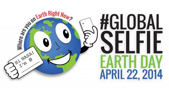NASA's GLOBAL SELFIE DAY.