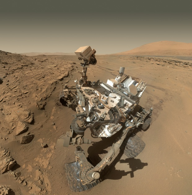 CURIOSITY SOL 613 SELFIE IN INCREDIBLE HD