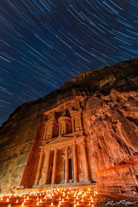 PETRA BY NIGHT, UNDER THE STARS