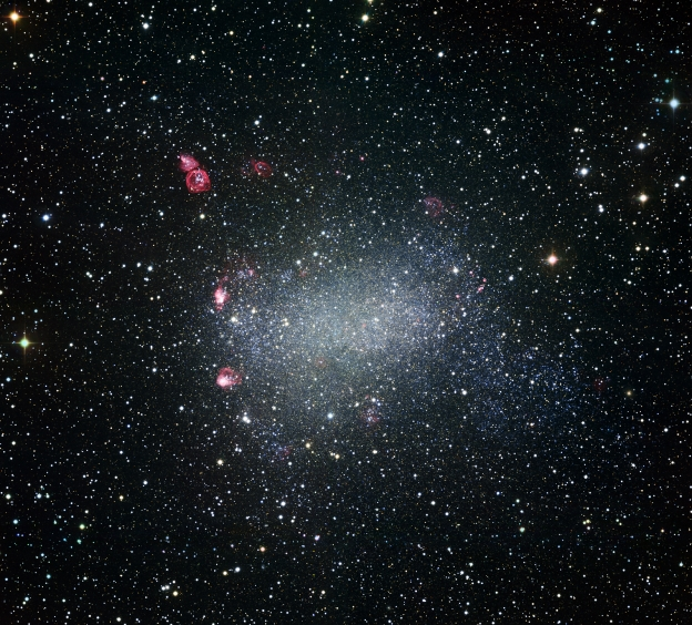 BARNARDS GALAXY; A MEMBER OF THE EXCLUSIVE LOCAL GROUP