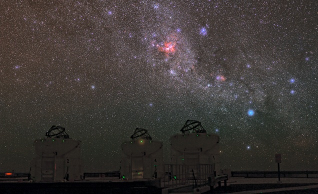 EUROPEAN SOUTHERN OBSERVATORY (ESO) NIGHTS