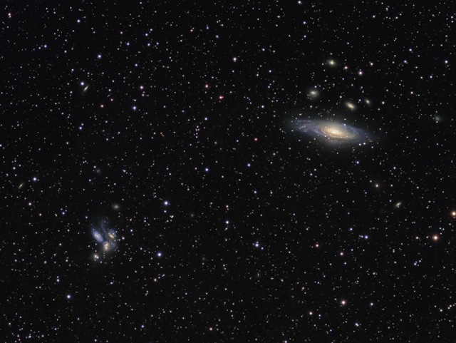 Stephan's Quintet and the Deer Lick Galaxy Cluster