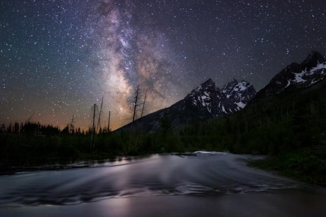 String Lake at Night