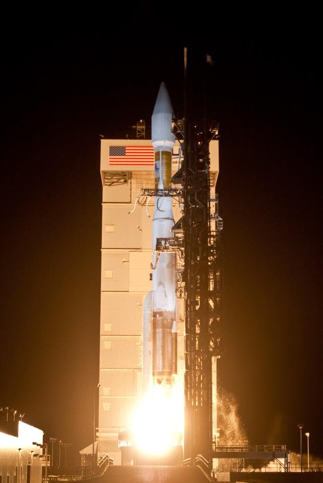 Launch of AtlasV NROL-34 from Vandenberg Air Force Base, April 1