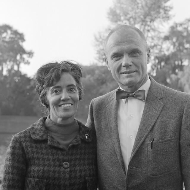 Annie and John Glenn (1965)